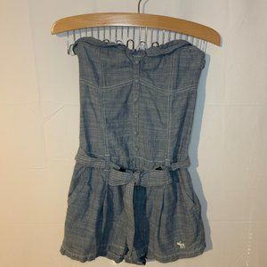 Abercrombie & Fitch Women's Strapless Romper